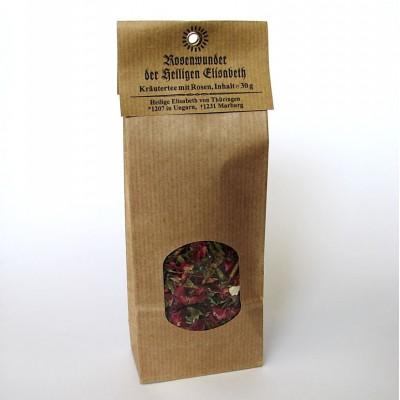 Kräutertee mit Rosenblüten::Rosenwunder der Heiligen Elisabeth