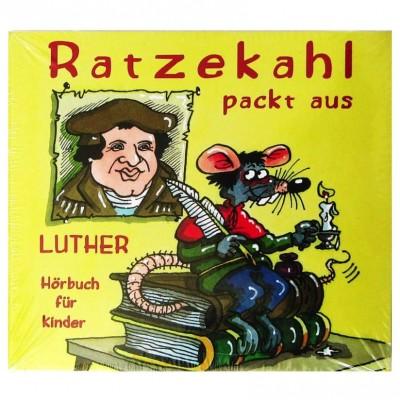 """CD """"Ratzekahl packt aus""""::Hörbuch für Kinder"""
