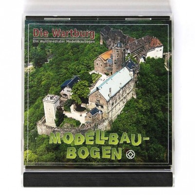 "CD-ROM Modellbaubogen ""Wartburg"""