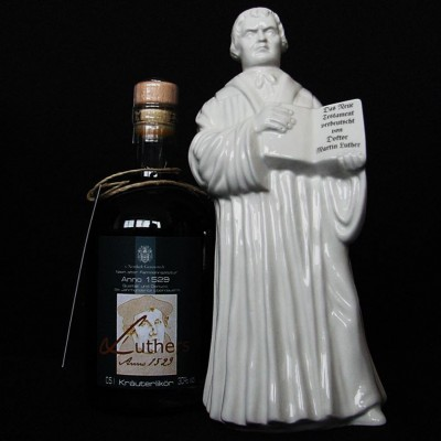 "Porzellankaraffe ""Martin Luther"""