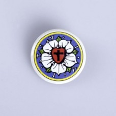 "Button ""Lutherrose"""