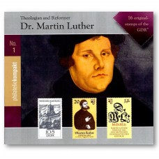 "Briefmarkenkollektion ""Martin Luther"""