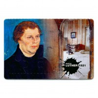 "Puzzle-Postkarte ""Luther / Lutherstube"""