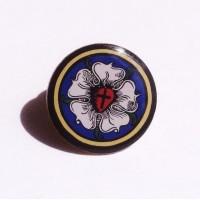 """Pin """"Lutherrose farbig"""""""