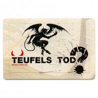 "Puzzle-Postkarte ""Teufels Tod"""