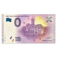 "Euro-Souvenirbanknote::""Weltkulturerbe Wartburg"""