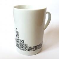 "Kaffeebecher ""Wartburg-Silhouette"""