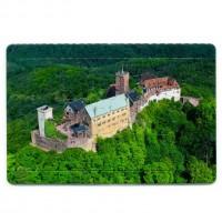 """Puzzle-Postkarte """"Wartburg von oben"""""""